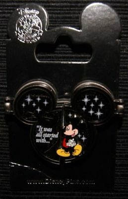 It Was All Started With ... - Walt Disney and Mickey Mouse -  Disney Pin