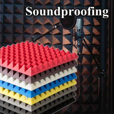 30x30x5cm Acoustic Sound Stop Absorption Egg Shell Shape Pyramid Studio Sound