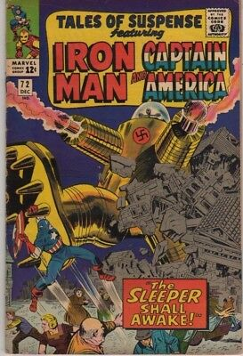 TALES OF SUSPENSE 72, Captain America