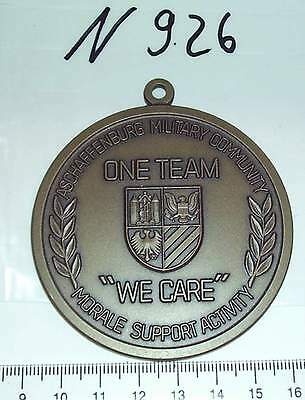 Medaille USA Aschaffenburg Military Community Morale Support bronze (N926-)
