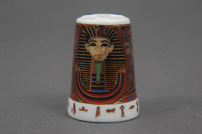 The Radiance of The Pharaohs by SammlerCollection China Thimble B/33