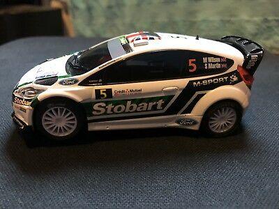 Scalextric Ford Fiesta Rs WRC Stobart