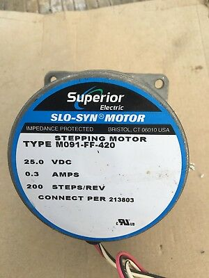 Superior Electric Slo-Syn Stepping Motor