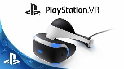 PlayStation VR Virtual Reality Headset for PS4 Brand New Sealed Box Free Ship