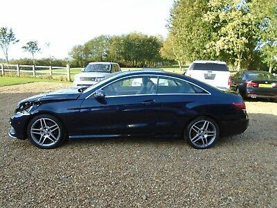 2014 Mercedes E250 Amg Sport Cdi Coupe,,cat-D,,repairable Damaged Salvage