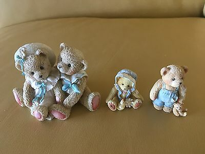 Teddy Bears - Priscilla Hillman Cherished Teddies numbered 1993 - lot of 3