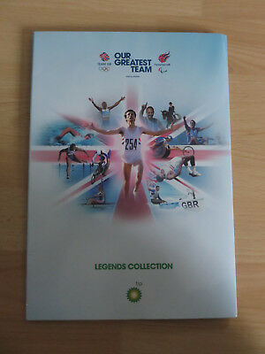 2012 Bp Olympic Coin Collection Folder Set Complete With All Coins!