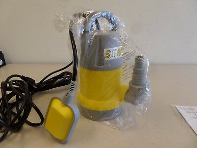 1/2HP Electric Submersible Water Sump Pump Swimming Pool Drain Flood Dirty Clean