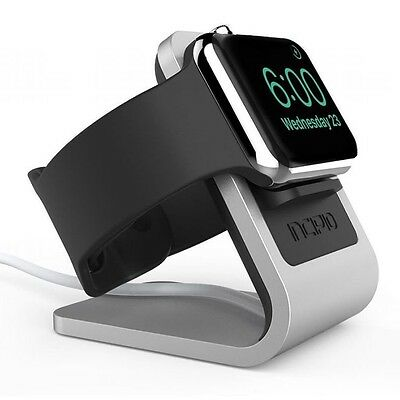 Incipio Apple Watch Docking Station Apple Watch Series 1, 2 and 3 Silver/Black