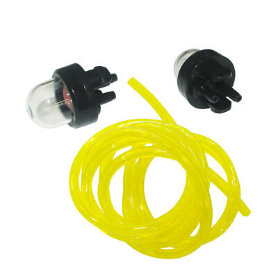 Petrol Fuel Gas Line Pipe Hose Primer Bulb Fit Trimmer Chainsaws Blowers