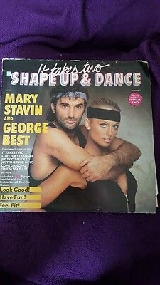 George Best - Mary Stavin -Shape up & Dance- LP used - it takes two- vinyl