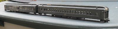 Walthers O Scale/Gauge 75-Ft. Heavyweight Paired-Window Passenger Car Coaches