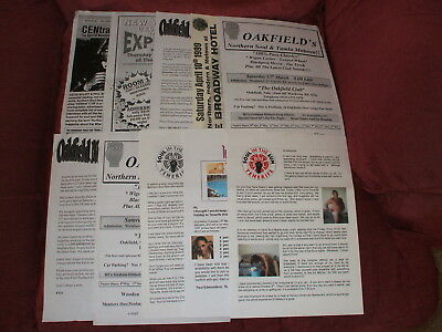 40 Mixed Flyers For Weekenders/venues/records Etc