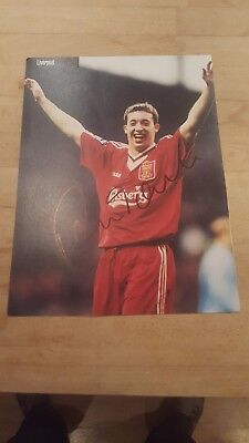Robbie Fowler Signed Photo   - Liverpool