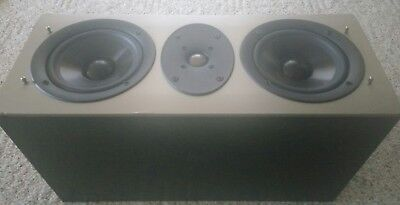 Athena Technologies Audition Series AS-C1-1 High-End 2-Way Center Speaker Black