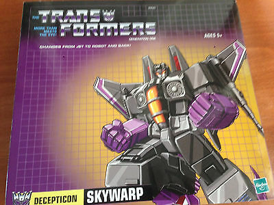Transformers Skywarp G1 ristampa Hasbrotoys 'r us