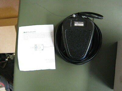 Fire-Com FS-1 hands-free footswitch for EMS Communication (108-0670-10)