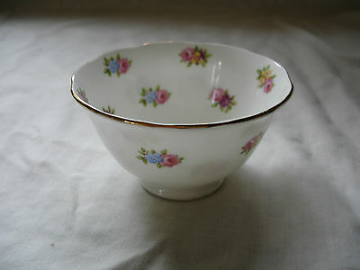 Vintage Tuscan Bone China Flower Posy Sugar Bowl