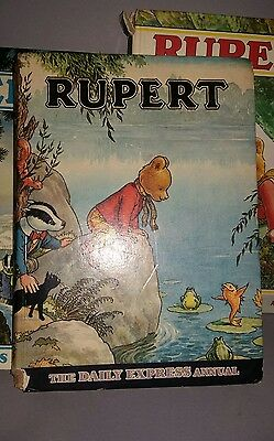 Rupert Annuals 1969,1970 and 1971