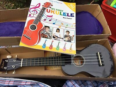 My First Purple Ukelele And Case And Book Vgc