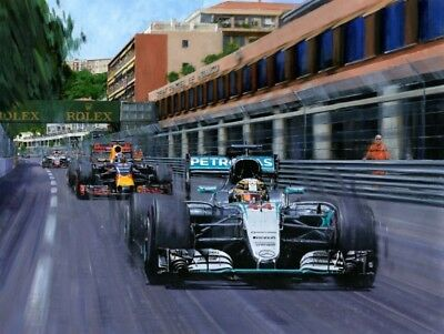 Nicholas Watts, Lewis Hamilton 'Victory for Lewis' new release limited edition