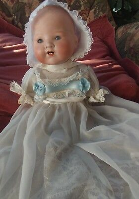 Vintage Bisque Doll A E 1930 ,s 10 Inch