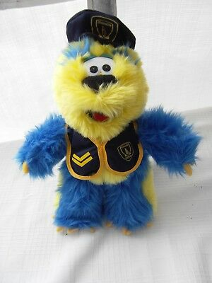 """BLAINVILLE CANADA Police PATROUILLE PLUSH DOLL 12"""" Toy OFFICIAL MASCOT RARE"""