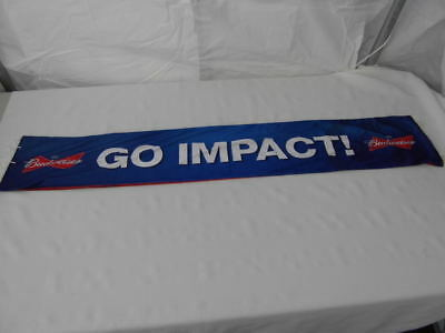 Montreal Impact Scarf Soccer League Legea Canada Mls Budweiser Beer Promo