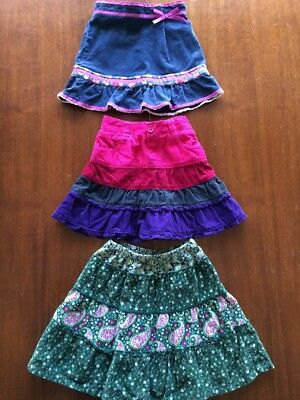 Gap Children's Place Baby Toddler Girl 18/24 Mo 2T Corduroy Skirt Lot Of 3