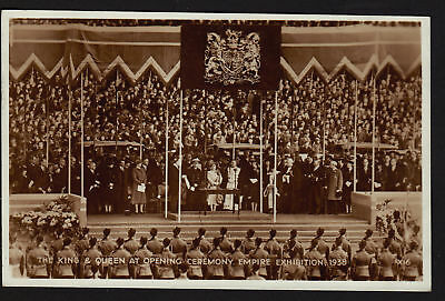 EMPIRE EXHIBITION SCOTLAND 1938 King & Queen