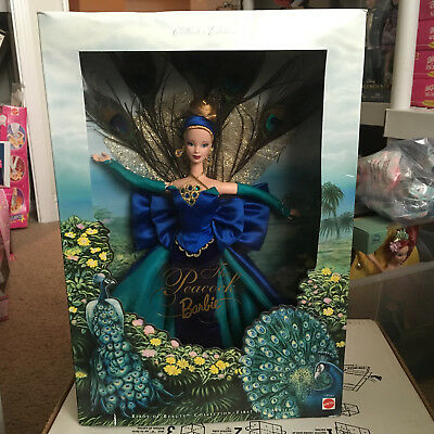 Barbie Collector Doll The Peacock Collector Edition 1998