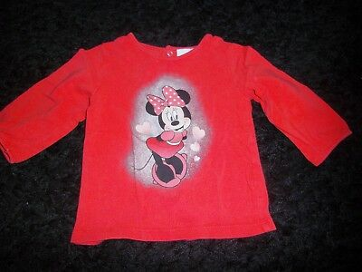 Tee Short Bebe Fille Taille 12 Mois Marque Disney