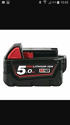 milwaukee m18 5ah battery