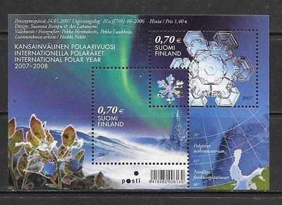 FINLAND - 2007.  International Polar Year - M/Sheet, MNH