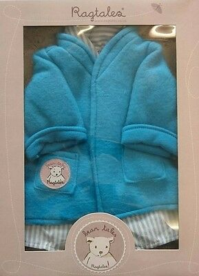 Ragtales Blue Darcy Bear Nightie and Dressing Gown New