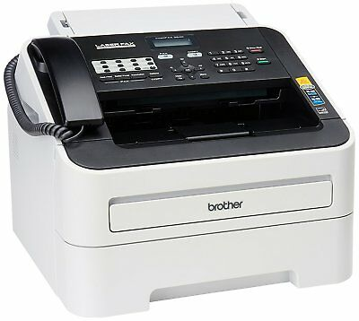 New Brother FAX-2840 High Speed Mono Laser Fax Machine Printer w Toner