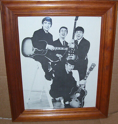 The Beatles 8 X 10 Framed Photo Print Picture 90's