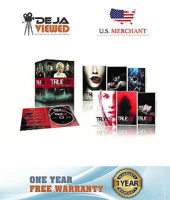 True Blood The Complete Series Seasons 1,2,3,4,5,6,7 DVD Disc Box Set NEW Sealed
