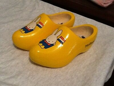 Dick Bruna Holland Miffy Wooden Clogs Shoes 17cm 27 The Magic Touch of the Dutch