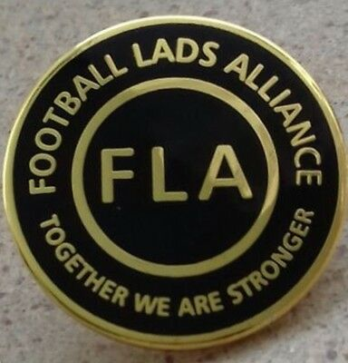 Football Lads Alliance Official Enamel Pin Badge - Together We Are Stronger