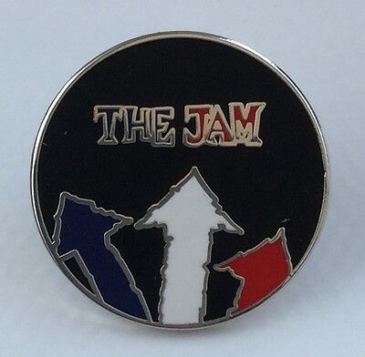 The Jam Arrow Logo Enamel Pin Badge, Brand New Quadrophenia / Mods / Paul Weller