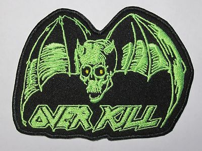 OVERKILL Chaly embroidered NEW patch thrash metal