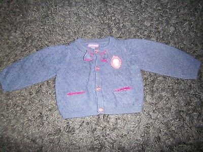 Gilet Bebe Fille Taille 6 Mois Marque Sergent Major