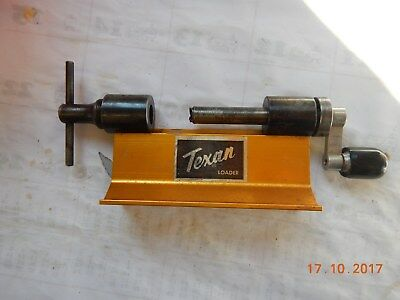 TEXAN CASE TRIMMER ------Rifle Reloader Case Trimmer---For ??? will measure