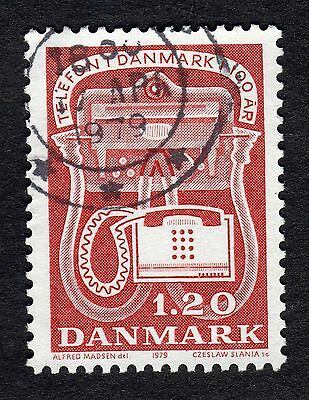 Denmark: small collection of stamps from 1979; fine used most engraved by Slania