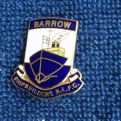 Rugby League Badge Barrow shipbuilders
