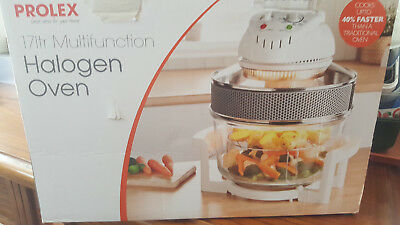PROLEX Large 17 Ltr White Premium Convection Halogen Oven Cooker