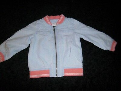 Veste Bebe Fille Taille 6/9 Mois Marque Zybaby Outerwear