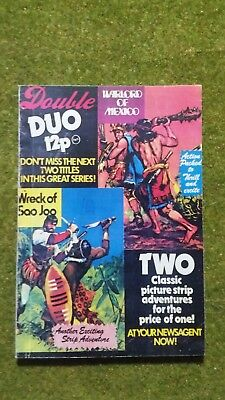 Classics. Double Duo #11. Warlord Of Mexico + Wreck Of Sao Joo.