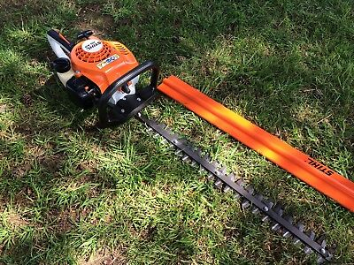 "2016 Immaculate Stihl Hs45 Petrol Hedge Trimmer 24"" Blade Like  Hs56 Hs46"